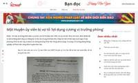 'Nghi vấn chìm xuồng' vụ Trưởng Phòng NN&PTNT huyện Kim Sơn bị vợ tố có tài sản 'ngầm'