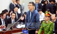 Ngày xét xử thứ 2: Ông Đinh La Thăng, Trịnh Xuân Thanh khai gì tại tòa?