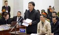 Ông Đinh La Thăng nhận lỗi và xin thay đổi biện pháp ngăn chặn