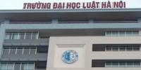Trường Đại học Luật Hà Nội liên tục tuyển sinh