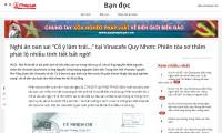 """Tiếp nghi án oan sai tại Vinacafe Quy Nhơn: Không gây thất thoát tài sản thì không thể buộc tội """"Cố ý làm trái…"""""""