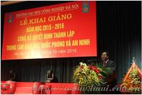Trung tâm Giáo dục Quốc phòng và An ninh Trường Đại học Công nghiệp Hà Nội