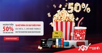 Thưởng thức phim 'bom tấn' với ưu đãi hoàn tiền tới 50% từ Maritime Bank