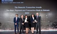 BIDV nhận 2 giải thưởng do The Asian Banker trao tặng