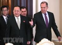 Ngoại trưởng Triều Tiên, Nga lần đầu hội đàm