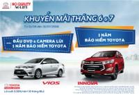 TMV triển khai chương trình khuyến mãi cho khách hàng mua xe Innova và Vios