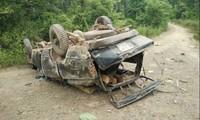 Lật xe gỗ lậu 2 người chết, đình chỉ cả trạm quản lý bảo vệ rừng