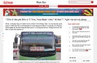 """Vụ """"Tiền tỷ thu phí bến xe Ý Yên """"chảy"""" đi đâu?"""": Chủ tịch UBND tỉnh Nam Định chỉ đạo kiểm tra"""