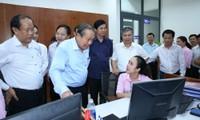 Phó Thủ tướng Thường trực kiểm tra cải cách hành chính tại Quảng Nam