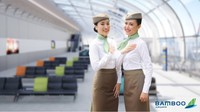 """Cộng đồng mạng """"dậy sóng"""" với đồng phục tiếp viên hàng không Bamboo Airways"""