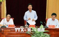 Trưởng ban Tuyên giáo TƯ Võ Văn Thưởng làm việc tại Kiên Giang