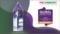 """FE CREDIT được đánh giá là """"Công ty tài chính tiêu dùng tốt nhất Đông Nam Á 2018"""" theo Global Business Outlook"""