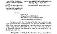 """Phản hồi bài viết """"Xe dù"""", """"bến cóc"""" ở Thái Bình: Sở GTVT kiên quyết xử lý vi phạm"""