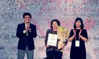"""Bà Mai Kiều Liên được Forbes Việt Nam vinh danh với giải thưởng """"Thành tựu trọn đời"""""""