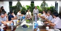 Lãnh đạo tỉnh Bến Tre thăm và làm việc với Tập đoàn Sao Mai, mời gọi đầu tư về Năng lượng mặt trời