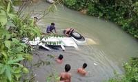 2 người tử vong do lật xe dưới suối khi kiểm tra đường sau bão số 2