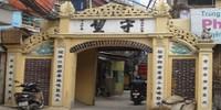 Cổng làng Sở đánh dấu đất của họ Trương