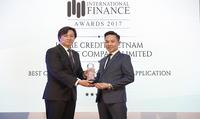 Home Credit thắng giải ứng dụng tài chính tiêu dùng tốt nhất 2017