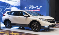 Giá xe nhập khẩu nguyên chiếc từ Thái Lan của Honda Việt Nam chỉ tăng 5 triệu đồng/xe so với giá cũ
