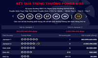 Hà Nội phát hành vé trúng Jackpot 1 hơn 303 tỷ đồng