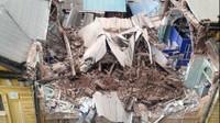 Toàn cảnh đổ nát tại ngôi biệt thự cổ phố Trần Hưng Đạo