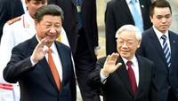 Toàn cảnh Lễ đón trọng thể Chủ tịch Trung Quốc Tập Cận Bình