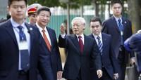 21 phát đại bác vang lên chào mừng Chủ tịch Trung Quốc