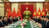 Không để vấn đề ở biển Đông ảnh hưởng quan hệ Trung - Việt