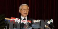 Toàn văn phát biểu bế mạc Hội nghị TƯ 14 của Tổng Bí thư