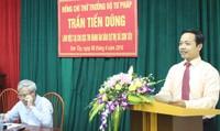Thứ trưởng Trần Tiến Dũng biểu dương thành tích THADS Sơn Tây