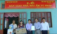 """Báo Pháp luật Việt Nam trao nhà """"Mái ấm Tư pháp"""" tại Bạc Liêu"""