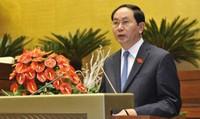 Chủ tịch nước Trần Đại Quang trả lời phỏng vấn riêng báo nước ngoài