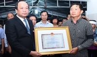 Phi công máy bay L39 được truy tặng Huân chương Bảo vệ Tổ quốc