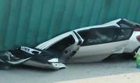 Danh tính 2 nạn nhân trong ô tô bị xe container đè bẹp ở Nam Định