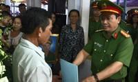Thăng hàm cho Thượng úy cảnh sát hy sinh khi cứu hỏa nhà dân