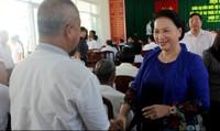 Chủ tịch Quốc hội 'gỡ' khúc mắc cho cử tri Cần Thơ