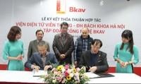 Đại học Bách Khoa Hà Nội và Bkav ký thỏa thuận phát triển khoa học công nghệ