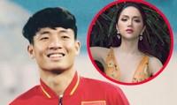 """Bùi Tiến Dũng U23 Việt Nam bất ngờ """"nhắn nhủ"""" Hương Giang Idol"""