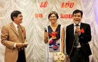 Nhà thơ Lê Minh Quốc cưới vợ ở tuổi 59