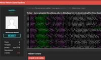 Lộ dữ liệu một trung tâm an ninh mạng Việt Nam