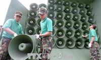 Triều Tiên và Hàn Quốc dỡ bỏ loa phóng thanh tại biên giới