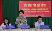 Trưởng Ban Tuyên giáo Trung ương giải đáp 'thắc mắc' về bà Phan Thị Mỹ Thanh