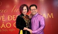 Cuộc hôn nhân với vợ kém 23 tuổi của NSND Trần Nhượng