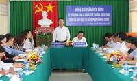 Thứ trưởng Trần Tiến Dũng: Cần tăng cường công tác hộ tịch, quan tâm vấn đề di cư tại An Giang
