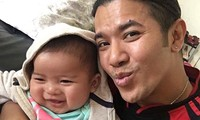 Kasim Hoàng Vũ xúc động công khai con trai với bạn gái Việt kiều
