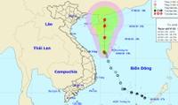 ATNĐ không ngừng mạnh lên, Đà Nẵng đến Quảng Ngãi biển động mạnh