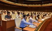 Quốc hội thông qua Nghị quyết về Chương trình xây dựng luật, pháp lệnh 2019