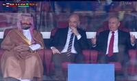 Tổng thống Putin gây sốt với phản ứng sau mỗi bàn thắng của đội nhà