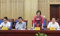 Thứ trưởng Đặng Hoàng Oanh kiểm tra tình hình thi hành pháp luật về điều kiện đầu tư kinh doanh tại Nghệ An