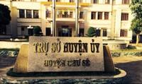 Cách chức Trưởng ban Tổ chức Huyện ủy dùng bằng Đại học giả